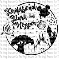 Digital Download Disney Professional Park Hopper SVG/PNG/JPEG by TheVinylAnswerCo on Etsy