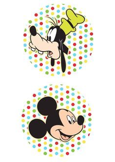 Toppers Para Doces Mickey E Pateta PartyMickey Mouse