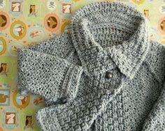Toddler Girl Crochet Sweater