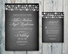 Printed Card 50-75 Sets Romantic Garden and by WeddingSundaeShop