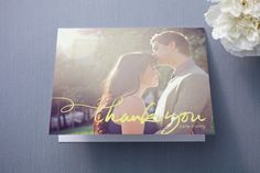 Quickly Penned Thank You Cards by Laura Condouris at minted.com