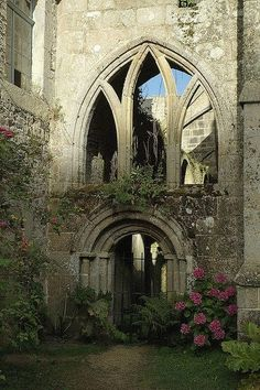 Gothic Monastery Ruins in France | Ruins of Beauport Abbey, Brittany, France