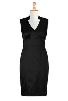 """I will call this the Rosemary Clooney """"You've Done Me Wrong"""" Dress  - Admiralty blue dress in black"""