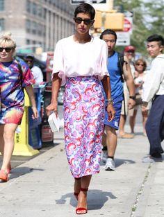 Streetstyle - De 25 mooiste looks van New York Fashion Week