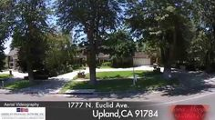 Million Dollar Listing Aerial Videography of 1777 N  Euclid  Upland, CA