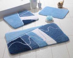 Alessia | Akrilik Klozet Takımı Sigma Mavi Banyo Paspası: 50x60 Cm Banyo Paspası: 40x60 Cm 30 Derecede Makinada Yıkanabilir Akrilik Kaymaz Taban #home #house #evtekstili #tekstil #banyo #havlu #bornoz #paspas #dusperdesi #perde #bathroom #spa #bath #hamam #ottoman #bathingmat #turkishhamam #pestemal #towel #bathrobe #Satacak