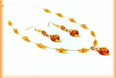 Sunset Beaded Necklace, Sunset, Bracelets, Jewelry, Beaded Collar, Jewlery, Pearl Necklace, Jewerly, Schmuck