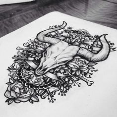 20 Mind-Blowing & Inspirational Tattoo Sketches - Hongkiat