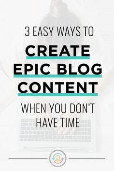 Struggling to regularly create content and blog consistently? Luckily, there are systems and tools that can help! Click through to discover the top 3 reasons you don't feel motivated, plus easy time management tips and systems to help you roll out epic blog posts in half the time. You'll be amazed at how much time these simple blogging systems will save! #ConversionMinded #timemanagement #bloggingtips #contentcreation Make Money Blogging, How To Make Money, Money Tips, Business Tips, Online Business, Business Branding, Blog Writing, Writing Tips, Blog Topics