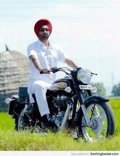 Sikh boy wearing punjabi dress name kurta pajama