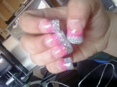 Nail Designs Two Colors Half Up Half Down - two color nail art how you can do it at home pictures designs Two Color Nails, Opi Nail Colors, Colored Acrylic Nails, Summer Acrylic Nails, Summer Nails, Winter Nail Designs, Colorful Nail Designs, Hot Nails, Hair And Nails