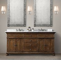 James Double Vanity Sink Love this style Bathroom Hacks, Budget Bathroom, Bathroom Renovations, Master Bathroom, Bathroom Ideas, Bath Ideas, Bathroom Designs, Double Sink Vanity, Vanity Sink