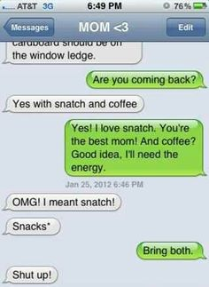 Coffee and snatch