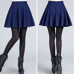 Cheap fashion short skirt, Buy Quality short skirt directly from China short skirts fashion Suppliers: Fashion Sexy Women's Stretch High Waist Plain Skater Flared Pleated Casual Cotton Mini short Skirt Quality Blue Skater Skirt, Pleated Mini Skirt, Skater Skirts, Flared Skirt, Waist Skirt, Cheap Skirts, Short Skirts, Jupe Short, High Waisted Flares