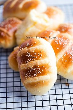 Coconut Buns (Cocktail Buns) – China Sichuan Food