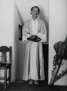 Brassaï, Salvador Dali, 1955 - Printed Later