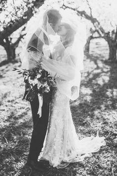 Gina & Chase | Allure Bridals M495 | Petals and Promises Bridal | Photo by Nhiya Kaye Photography