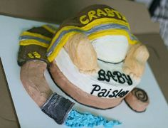 Baby - Firefighter - Baby Shower Cake