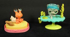 Littlest Pet Shop LPS Lot of 5 Cat, Crab, Sandbox and Accessories in Toys & Hobbies, Preschool Toys & Pretend Play, Littlest Pet Shop | eBay