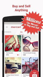 Mercari: Anyone can buy & sell- screenshot thumbnail  Go Shop Now! Get Deals on Nike Shoes and Heals!
