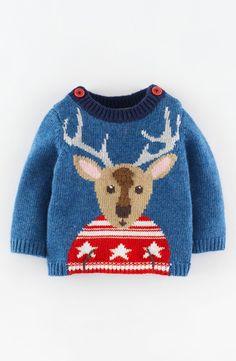 Mini Boden Intarsia Knit Sweater (Baby Boys)   Nordstrom