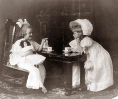 Old Picture of the Day: Tea Party