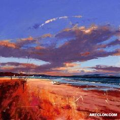 So dramatic. Artist: Peter Wileman; Title: As Twilight Cloaks the Land; Medium: Painting Reproduction - Oil on Canvas