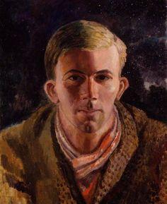 Dora Carrington, Gerald Brenan (1921) - so many human beings