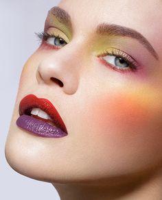 Makeup: Martin Schmid  Website: www.martinschmid.net Photographer/Model: Unknown