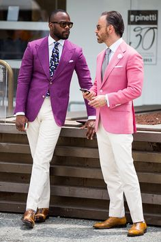 Street looks from Pitti Uomo Menswear Tradeshow Spring/Summer 2016 in Florence