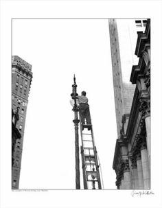 Lamplighter Lower Manhattan 1939