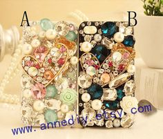iphone 5 case bling bling iphone 4s case full crystal by AnneDIY, $18.99