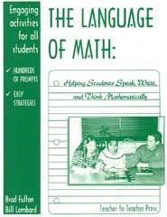 The Language of Math:  Writing in Math Class