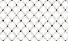 White Pattern Checkered Fototapet, x 146 cm) Chesterfield, White Patterns, Luxury, Gold, Yellow