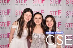 """On Saturday May 10th Stefanie celebrated her Bat Mitzvah with her friends, family and City Sounds Entertainment at the South Orange Performing Arts Center. Stefanie featured CSE's Red Carpet Photo Booth at her celebration. Guests felt like celebrities on the """"Red Carpet"""" posing in front of Stef's Custom Step & Repeat Back-Drop. CSE's Red Carpet Photo Booth is always a big hit at any celebration! www.citysoundsentertainment.com"""