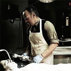 "Bruce Springsteen as Giuseppe 'Joey the Undertaker' Tagliano in ""Lilyhammer."""