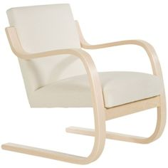 ARTEK Armchair 402 (€2.155) ❤ liked on Polyvore featuring home, furniture, chairs, accent chairs, alvar aalto, upholstered chair, upholstery furniture, fabric accent chairs, artek furniture and upholstered armchair