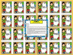 Are you looking for a LOW PREP math activity preschool, kindergarten, or first grade? Then download this product and go!  Enjoy this number resource which is comprised of a color version of a PLACE VALUE war style card game.  Children will identify three digit numbers and determine the value of the underlined digit on each of the THIRTY cards.  They also will compare the value of the digits.  ALL YOU NEED TO DO IS PRINT AND CUT CARDS APART. You can laminate the cards for durability.