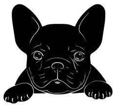 dog training,teach your dog,dog learning,dog tips,dog hacks Bulldog Drawing, Bulldog Tattoo, French Bulldog Art, French Bulldog Puppies, Animals And Pets, Cute Animals, Boston Terrier Dog, Terrier Dogs, Dog Signs