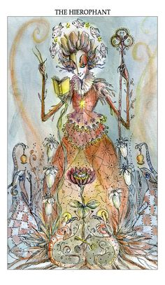 The Art of Paulina Cassidy, the hierophant