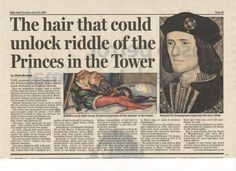 Princes In The Tower DNA   John Ashdown-Hill and the Princes in the Tower.