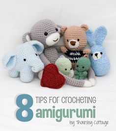 Best Amigurumi Tips and Tricks for Doll Faces! Learn how ...