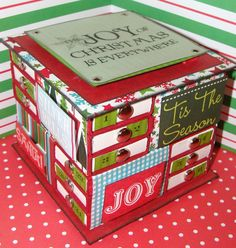 Handmade Christmas Advnt Calendar  Countdown by alishastratton, $49.99