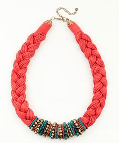 Arts and fashion Mix: DIY Braided Necklace
