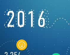 """Check out new work on my @Behance portfolio: """"Happy New Year"""" http://be.net/gallery/32481573/Happy-New-Year"""