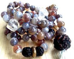 Hey, I found this really awesome Etsy listing at https://www.etsy.com/listing/218031864/meditation-beads-botswana-agate-mala