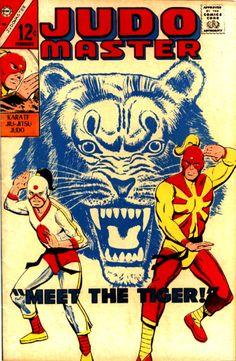 Judo Master Charlton Comics