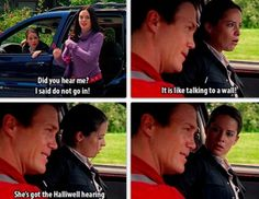 """Piper: """"Did you hear me? I said do not go on! It is like talking to a wall."""" Leo: """"She's got the Halliwell hearing."""""""