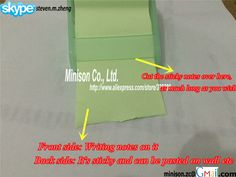 Roll tape style sticky paper memo pads
