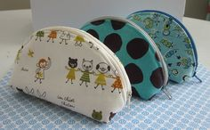cute little zipper purse